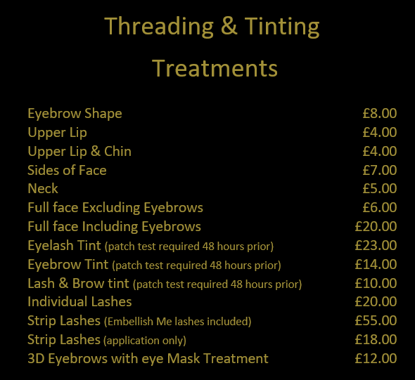 waxing, threading, beauty, services